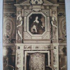 Postales: 8. CHATEAU DE CHEVERNY. LE CHEMINEE DU GRAND SALON. L. LENORMAND. ORLEANS. (FRANCIA). Lote 6279172