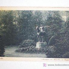 Postales: BERLIN. AMAZONE VON TUAILLON IM TIERGARTEN. I. W. B. SERIE REMBRANDT. NR. 103. (ALEMANIA). Lote 6290681