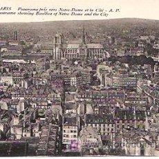 Postales - PARIS. PANORAMA PRIS VERS NOTRE-DAME ET LA CITÉ. - 6453423