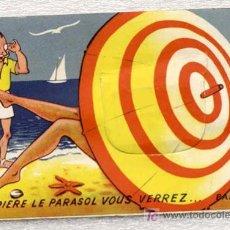 Postales: CURIOSA TP FRANCESA… CON TRUCO --- DE PALAVAS LES FLOTS (FRANCIA) --- CIRCA AÑOS 50. Lote 24677727