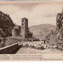 Postales: VALLS D'ANDORRA. Nº 45 .FOTO V.CLAVEROL. CANILLO. IGLESIA ROMANICA DE SAN JOAN DE CASELLES.. Lote 20773334