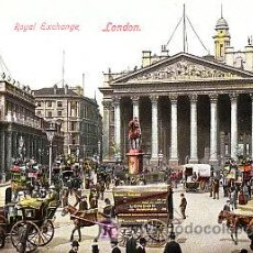 Postales: POSTAL DE LONDRES ROYAL EXCHANGE. Lote 7135893