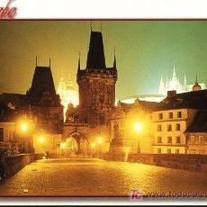 Postales: REPUBLICA CHECA. PRAGA. EL PUENTE CHARLES. Lote 7159689