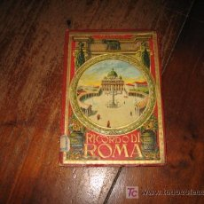 Postales: RICORDO DI ROMA. Lote 8167425