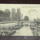 Postales: POSTAL ANTIGUA PARIS - VUE SUR LE CANAL-NOTRE DAME - CIRCULADA AÑO 1931. Lote 11205352