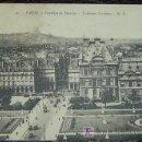 Postales: POSTAL ANTIGUA PARIS - FRANCIA - PAVILLON DE MARSAN LES TUILLERIES - CIRCULADA AÑO 1931. Lote 8192911