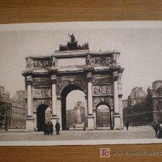 Postales: 17. L'ARC DE TRIOMPHE DU CARROUSEL. YVON (FRANCIA). Lote 10918517