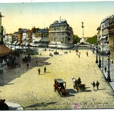Postales: BORDEUX - LA PLAZA DE LA COMEDIA. Lote 8113975