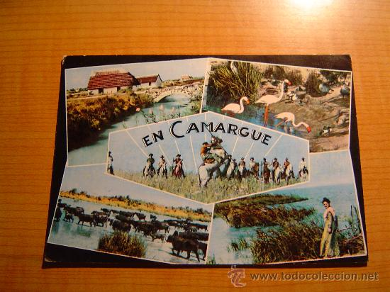 POSTAL EN CAMARGUE (B. DU RH.). CIRCULADA (Postales - Postales Extranjero - Europa)