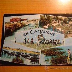 Postales: POSTAL EN CAMARGUE (B. DU RH.). CIRCULADA. Lote 8121644