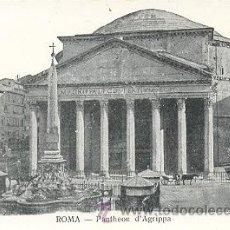 Postales: 7-2AY189. POSTAL ROMA. PANTHEON D'AGRIPPA. Lote 8378526