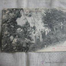 Postales: 1198 .-VALLEE DU VIC-DESSOS ENTREE DE LA GROTTE DE NIAUX. Lote 8562774