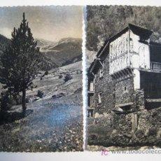 Postales: ANDORRA - LOTE 2 POSTALES ORIGINALES. Lote 8582494