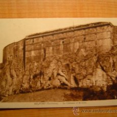 Postales: CARTE POSTALE BELFORT (TERRITOIRE) LE CHATEAU ET LE LION CIRCULADA. Lote 8720540