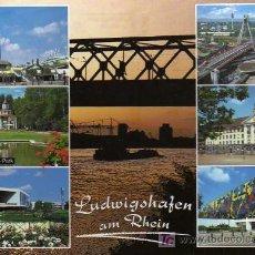 Postales: POSTAL LUDWIIGSHAFEN AM RHEIN - ALEMANIA. Lote 8999070