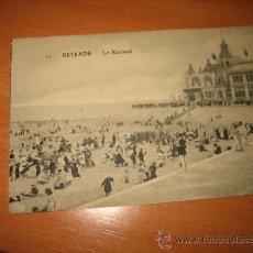 Postales: OSTENDE.-LE KURSAAL. Lote 9579450