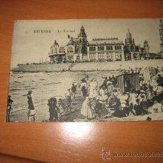 Postales: OSTENDE.-LE KURSAAL. Lote 9579531
