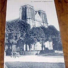 Postales: ANTIGUA POSTAL DE FRANCIA - BAYONNE - L'EGLISE ST ANDREE - SIN CIRCULAR. Lote 3040994