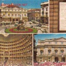 Postales: POSTAL DE MILÁN, ITALIA. AÑOS 70.. Lote 3277523