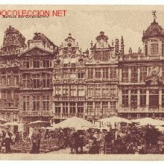 Postales: MAISONS DES CORPORATIONS-BRUXELLES. Lote 2104745