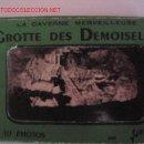 Postales: 10 POSTALES - GROTTE DES DEMOISELLES - FRANCIA. Lote 4252334