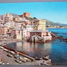 Postales: POSTAL DE GENOVA - BOCCADASSE (CIRCULADA , SIN SELLO). Lote 10139915