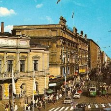Postales: POSTAL A COLOR HELSINKI HELSINGFORS SUOMI FINLAND OLD STUDENT HOUSE AND ALEXANDER STREET PHOTO TUKIA. Lote 10210453