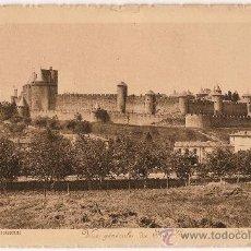 Postales: CARTE POSTALE CITÉ DE CARCASSONNE VUE GENERALE DU SUD EST PHOT E.ROUDIERE. Lote 10341206