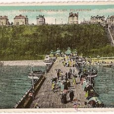 Postales: POST CARD VICTORIA PIER - LEAS & LIFT - FOLKESTONE ENGLAND. Lote 10349427