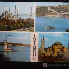 Postales: TURKIA. AÑOS 70 SIN CIRCULAR. ISTAMBUL . Lote 10508475