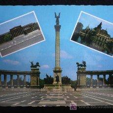 Postales: HUNGRIA . BUDAPEST AÑOS 70 SIN CIRCULAR. Lote 10508568