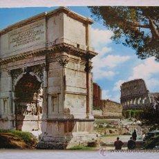 Postales: ITALIA , ROMA , ARCO DE TITO.. Lote 18918020