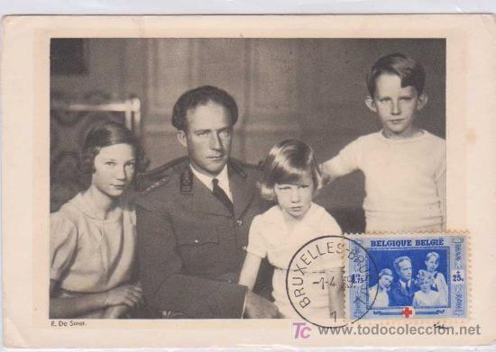 TARJETA MÁXIMA : LE ROI DES BELGES - BÉLGICA. 1939. ED PORTRAITS OFFICIELS (Postales - Postales Extranjero - Europa)