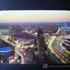 Postales: VISTA NOCTURNA DE BERLIN. Lote 11167792
