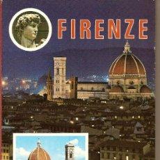Postales: FIRENZE. ITALIA. 100 VEDUTE. POSTALES DESPLEGABLES. Lote 19619439