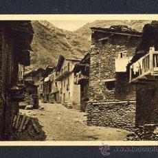 Postales: POSTAL D' ANDORRA: VELLES CASES A CANILLO (ED.ARTS GRAFIQUES NUM.632). Lote 12087766