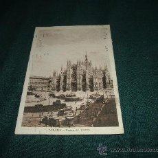 Postales: MILANO PIAZZA DEL DUOMO 1925. Lote 12106909