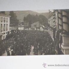 Postales: ITALIA . CONCENTRACIÓN POLÍTICA , SIN DIVIDIR Y SIN CIRCULAR. Lote 12301183