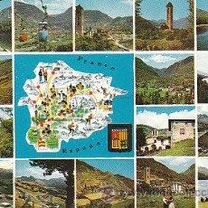 Postales: VARIAS VISTAS Y MAPA. Lote 32397089