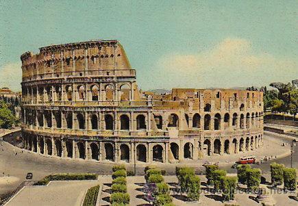 Roma Antiteatro De Flavio Y El Coliseo Romano Kaufen Alte