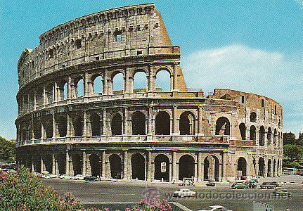Roma El Coliseo Romano Kaufen Alte Postkarten Von Europa In