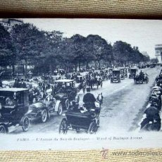 Postales: 2940 PARIS - L'AVENUE DU BOIS-DE-BOULOGNE. ND. NO CIRCULADA. Lote 23476293