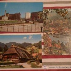 Postales: 3 POSTALES DE ALEMANIA, CIRCULADAS. Lote 12708171