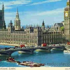 Postales: LONDON - THE HOUSES OF PARLIAMENT. Lote 12849692