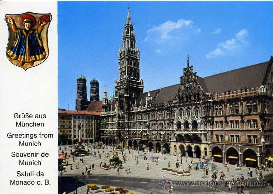 MUNICH-MONACO (ALEMANIA )+ POSTALES Y MUCHO + EN MI TIENDA (Postales - Postales Extranjero - Europa)