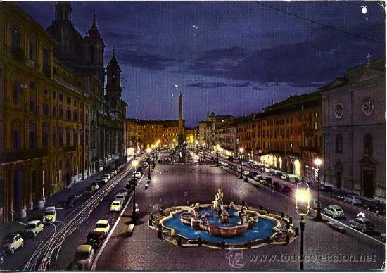 PLAZA NUEVA (ROMA )+ POSTALES Y MUCHO + EN MI TIENDA (Postales - Postales Extranjero - Europa)