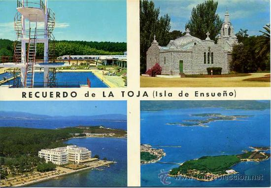 ISLA DEL SUEÑO( LA TOJA )+ POSTALES Y MUCHO + EN MI TIENDA (Postales - Postales Extranjero - Europa)