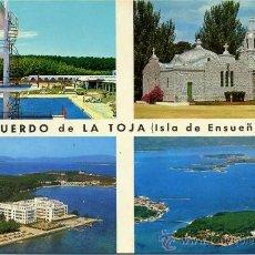 Postales: ISLA DEL SUEÑO( LA TOJA )+ POSTALES Y MUCHO + EN MI TIENDA. Lote 12935338
