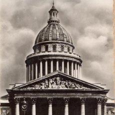 Postales: POST 251 - POSTAL CIRCULADA . PARIS ET SES MARVEILLES - EL PANTHÉON : MOSTRANDO VEHICULOS. Lote 23349173