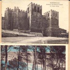 Postales: POST 307 - MARSEILLE ST VICTOR ABBEY - GORGUETTE ONE ABRY - JARDIN DE M DESCLOSEAUX. Lote 23673651